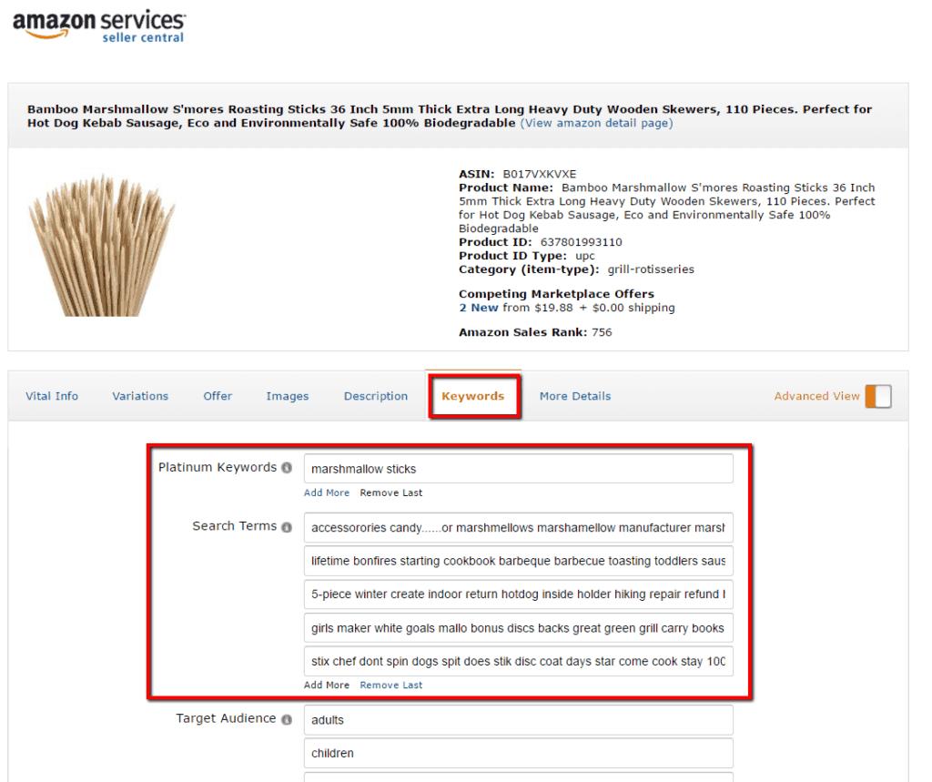 Amazon SEO Strategy & Search Term Optimisation