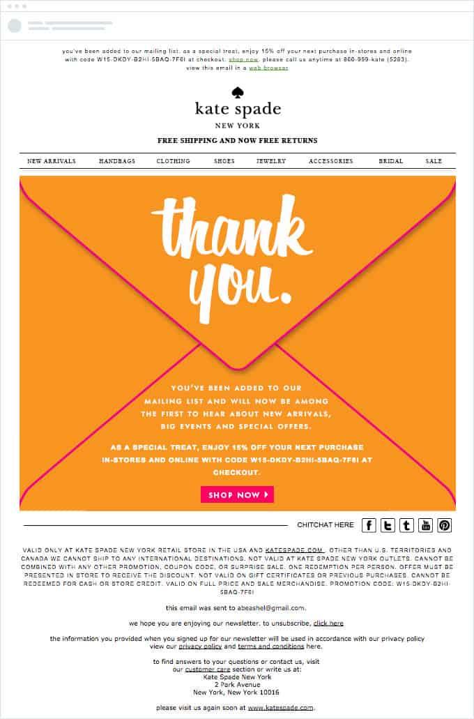 ecommerce email marketing strategy