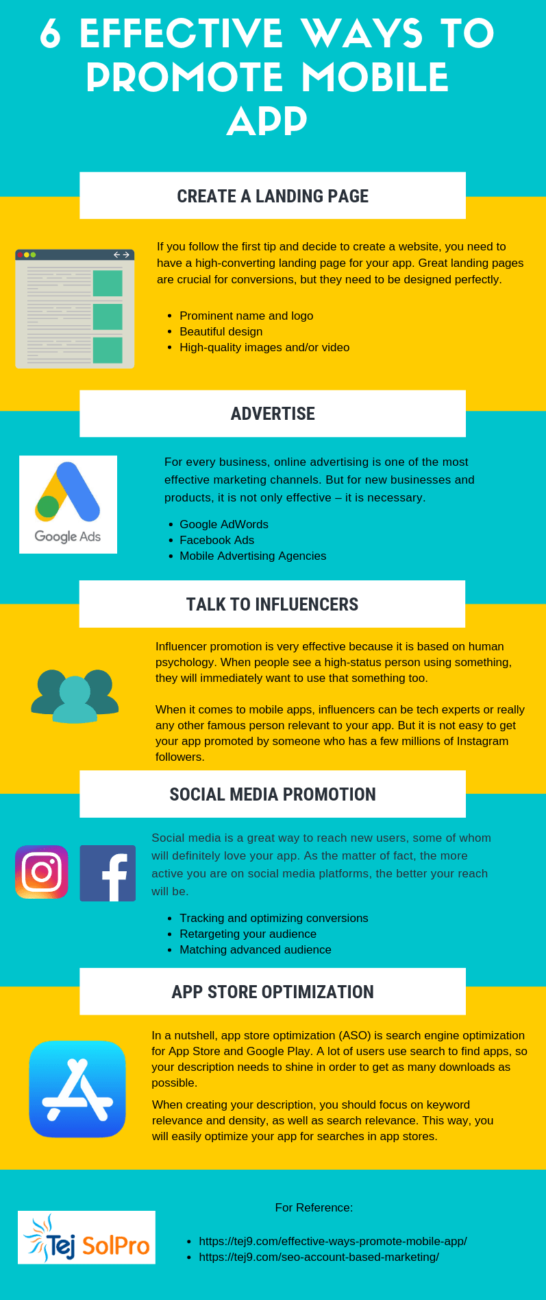 promote mobile apps