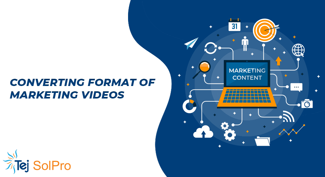 About Converting Format of Marketing Videos