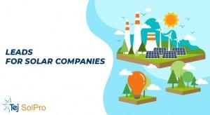 Lead Generation for Solar Companies