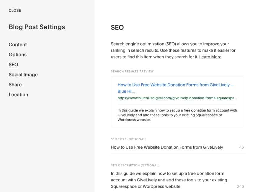 Essential Guide On Squarespace SEO (2021)